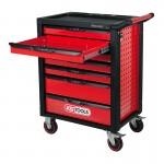 KS Tools 826.0007 Racing Line Εργαλειοφορος Τροχηλατος 7 Συρταρια