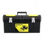"Stanley 1-92-067 - Εργαλειοθηκη 24"" με 2 Ταμπακιερες και Δισκο 61x29x28cm"