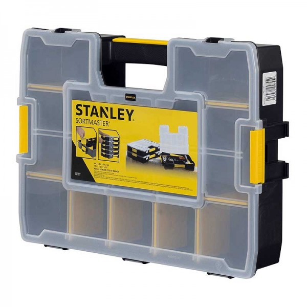 "Stanley 1-94-745 Sortmaster - Ταμπακιερα Εργαλειων Ρυθμιζομενη 17"" 15 Θεσεων"