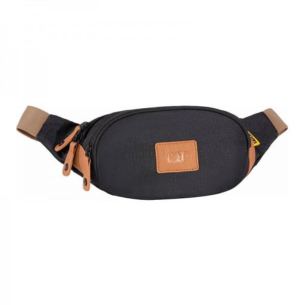 CAT Lava Waist Bag 83203-01 - Τσαντακι Μεσης Caterpillar Μαυρο