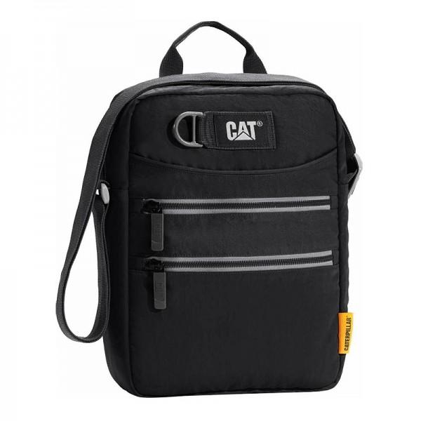 Τσαντακι Ωμου Caterpillar CAT Tablet Bag 83298-01 Μαυρο