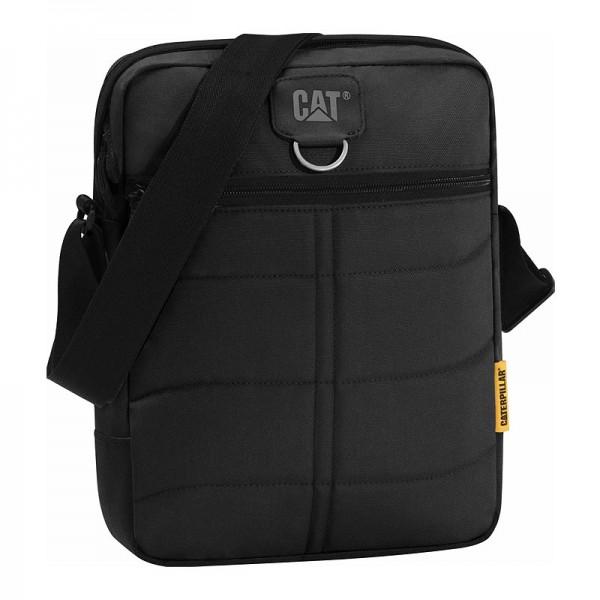 CAT Ryan Tablet Bag 83434-01 - Τσαντακι Ωμου Caterpillar Μαυρο