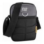 Τσαντακι Ωμου CAT Caterpillar Rodney Tablet Mini Bag Μαυρο 83437-172