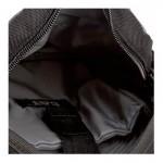 Caterpillar Rodney Tablet Mini Bag 83437-172 - Τσαντακι Ωμου CAT Μαυρο με Γκρι