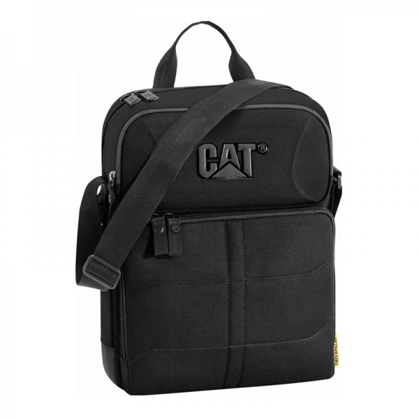 CAT CHARLIE II 83460-01 Shoulder Bag - Τσαντακι Ωμου Caterpillar Μαυρο