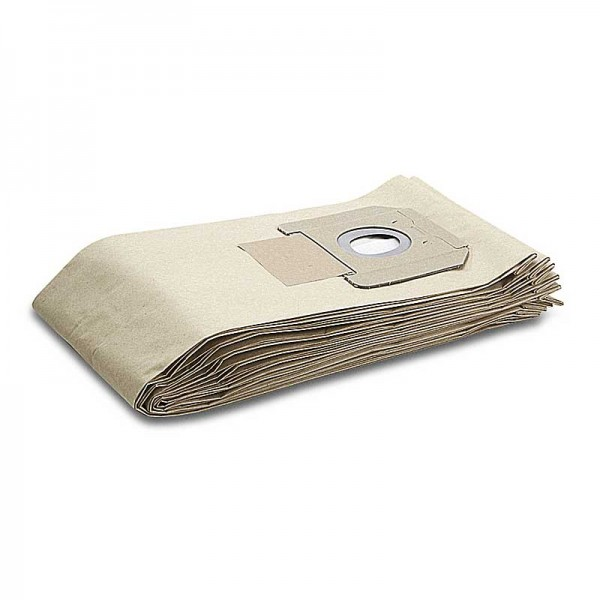 Karcher 6.904-208.0 - Χαρτινες Σακουλες Σκουπας Karcher για ΝΤ - 5 Τεμαχια