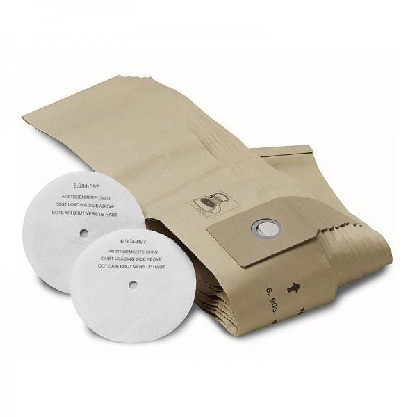 Karcher 6.906-118.0 - Σακουλες Σκουπας Karcher για T 201 10 Τεμαχια