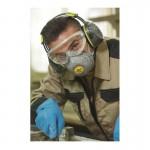 FFP2 Μασκα Προστασιας Αναπνοης με Βαλβιδα Delta Plus Spidermask P2
