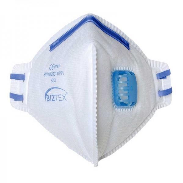 Portwest P251 - Μασκα Προστασιας Αναπνοης Αναδιπλουμενη με Βαλβιδα