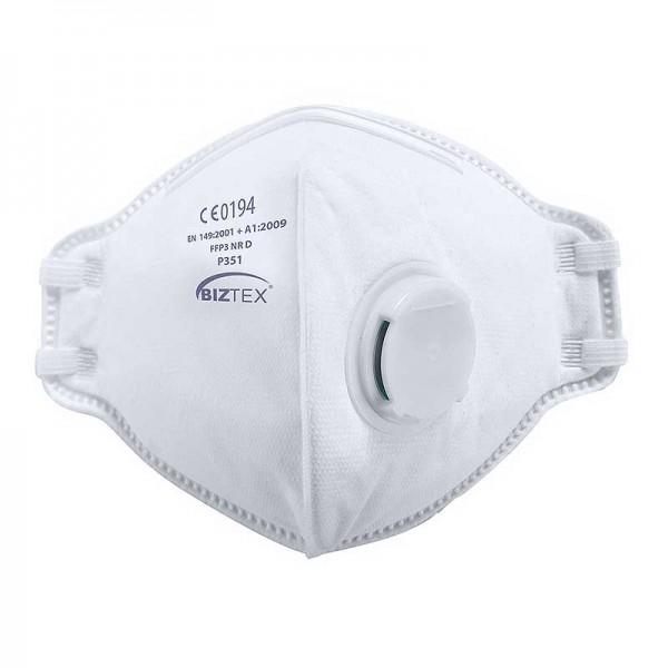 Portwest P351 - Μασκα Προστασιας Αναπνοης Αναδιπλουμενη με Βαλβιδα