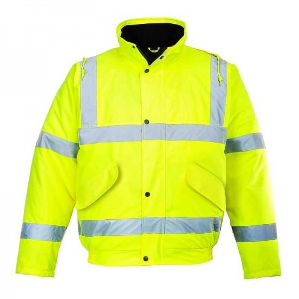 Μπουφαν Εργασιας Ψυχους Αδιαβροχο Φωσφοριζε Κιτρινο Portwest S463