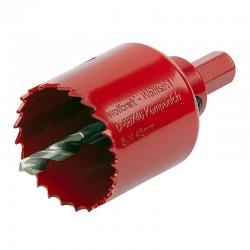 Wolfcraft 5470000 Bi-Metal - Ποτηροτρυπανα Ξυλου Μεταλλου Φ45mm