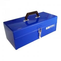 Εργαλειοθηκη Μεταλλικη με Συρταρι Μπλε 45x20x16cm