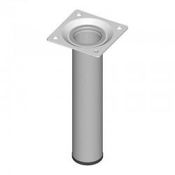 Ποδι Τραπεζιου Στρογγυλο Μεταλλικο Αλουμινιου Φ30x200mm