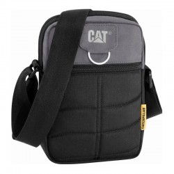 Τσαντακι Ωμου CAT Caterpillar Rodney Tablet Mini Bag Μαυρο 83437-172