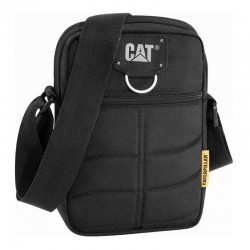 Caterpillar Rodney Tablet Mini Bag 83437-01 - Τσαντακι Ωμου CAT Μαυρο