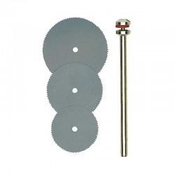 Proxxon 28830 - Σετ Δισκοι Κοπης Ελαστικου Χαλυβα Φ16, 19, 22mm