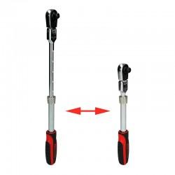"KS Tools 914.3820 Slim Power - Καστανια Τηλεσκοπικη Σπαστη 3/8"""