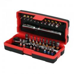 "KS Tools 918.3015 - Σετ Μυτες Αλεν Torx Torsion Power 1/4"" 31 Τεμαχια"