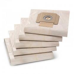 Karcher 6.904-285.0 - Χαρτινες Σακουλες Σκουπας Karcher για ΝΤ - 5 Τεμαχια