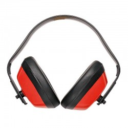 Portwest PW40 - Ωτoασπιδες Εργασιας Ακουστικα Προστασιας Κοκκινα