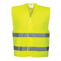 Portwest C474 - Φωσφοριζε Γιλεκο Ασφαλειας Ανακλαστικο Κιτρινο