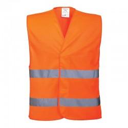Portwest C474 - Φωσφοριζε Γιλεκο Ασφαλειας Ανακλαστικο Πορτοκαλι