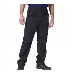 Click Workwear PCCT Combat - Παντελονια Εργασιας με Τσεπες Μαυρα