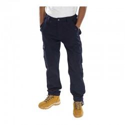 Click Workwear PCCT Combat - Παντελονια Εργασιας με Τσεπες Μπλε