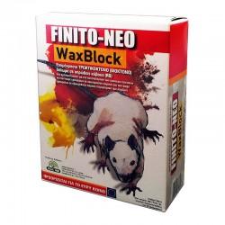 Ποντικοφαρμακο για Δολωματικους Σταθμους Κυβος Μπλε FINITO-NEO WaxBlock 200g