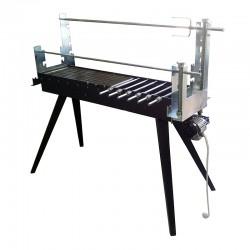 Ψησταρια Καρβουνου για Αρνι με Ατερμονα και Μοτερ 1.3x0.5x1.3m